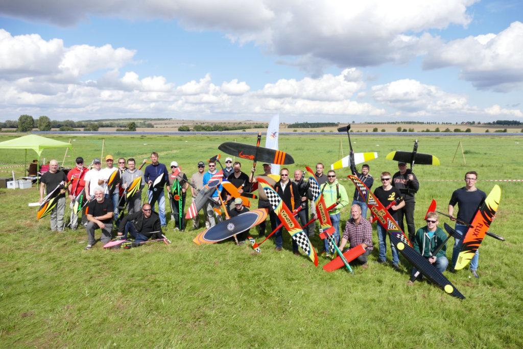 F3 Speed Deutsche Meisterschaft Teilnehmer Gruppenbild