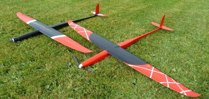 Demon Speed auf Basis Demon F5D Flügel und Tesla F5B Rumpf