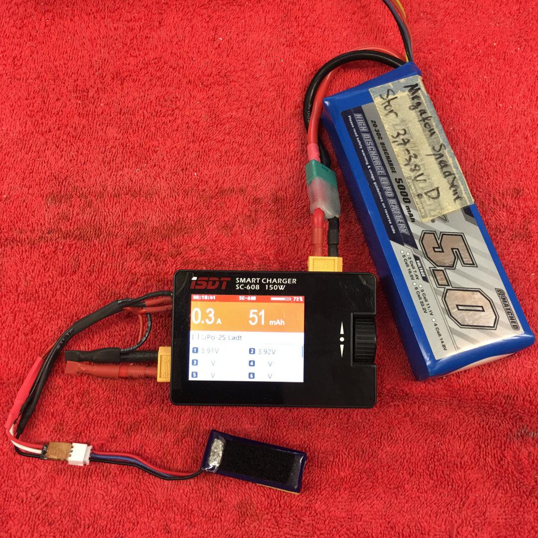 System zum Testen mit ISDT Lader