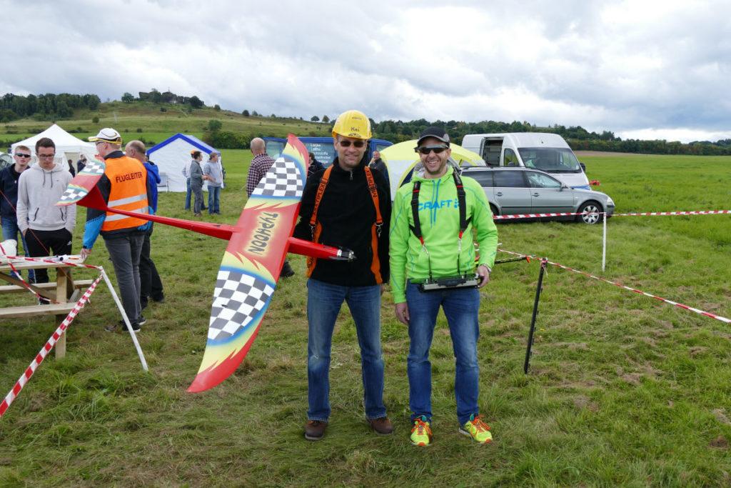 Dr. Marcus Koch mit seinem Typhoon Speeder