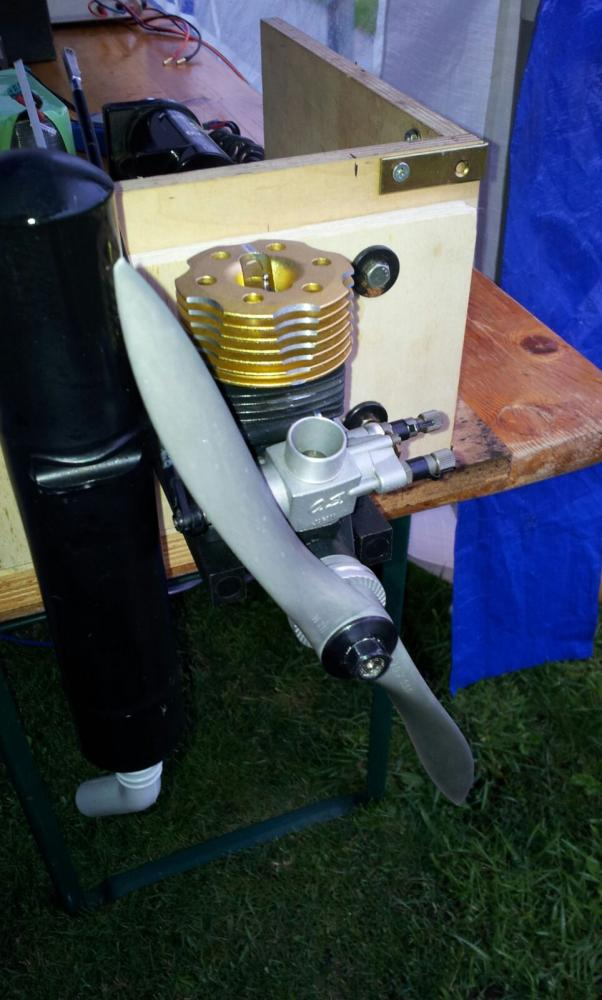 15er OS Heli Motor als Flüsterspeeder
